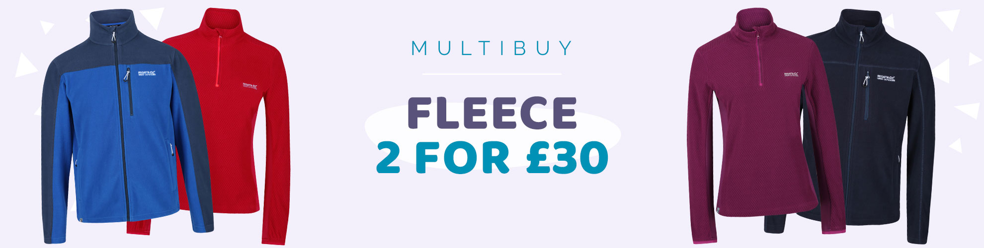 Fleece 2 for £30